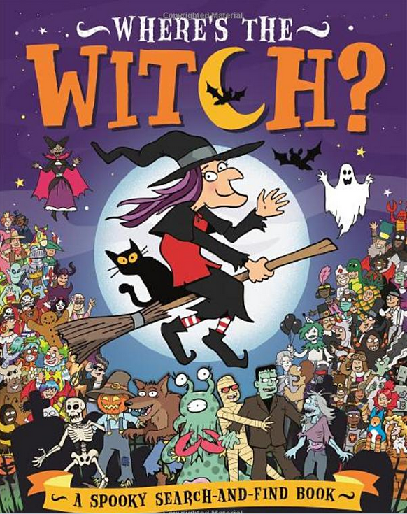 Where's the Witch? : A Spooky Search and Find Book, anglická kniha
