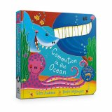 Commotion in the Ocean Board Book, anglická kniha - leporelo