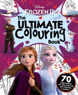 Disney Frozen 2 The Ultimate Colouring Book, omaľovánka