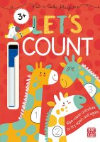 Let's Count! : Wipe-clean book with pen, zošit s úlohami