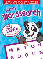 Super Wordsearch for Kids, anglická kniha