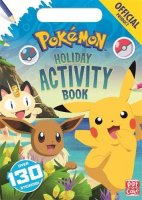 The Official Pokemon Holiday Activity Book, zošit s úlohami