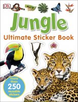 Jungle Ultimate Sticker Book, nálepkový zošit
