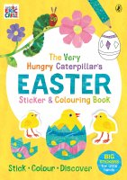 The Very Hungry Caterpillar's Easter Sticker and Colouring Book, nálepkový zošit s aktivitami