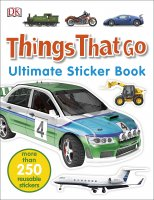 Things That Go Ultimate Sticker Book, nálepkový zošit