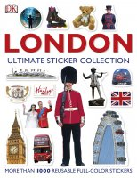 London Ultimate Sticker Book, nálepkový zošit