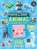 Minecraft Animal Sticker Fact File, nálepkový zošit