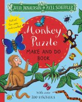 Monkey Puzzle Make and Do, nálepkový zošit s aktivitami