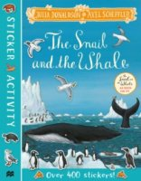 The Snail and the Whale Sticker Book, nálepkový zošit